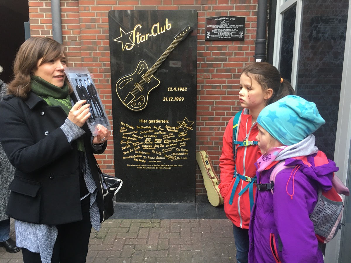 Mit Stefanie Hempel auf den Spuren der Beatles.