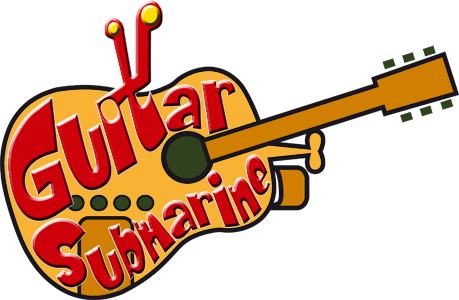 Guitar Submarine Logotype