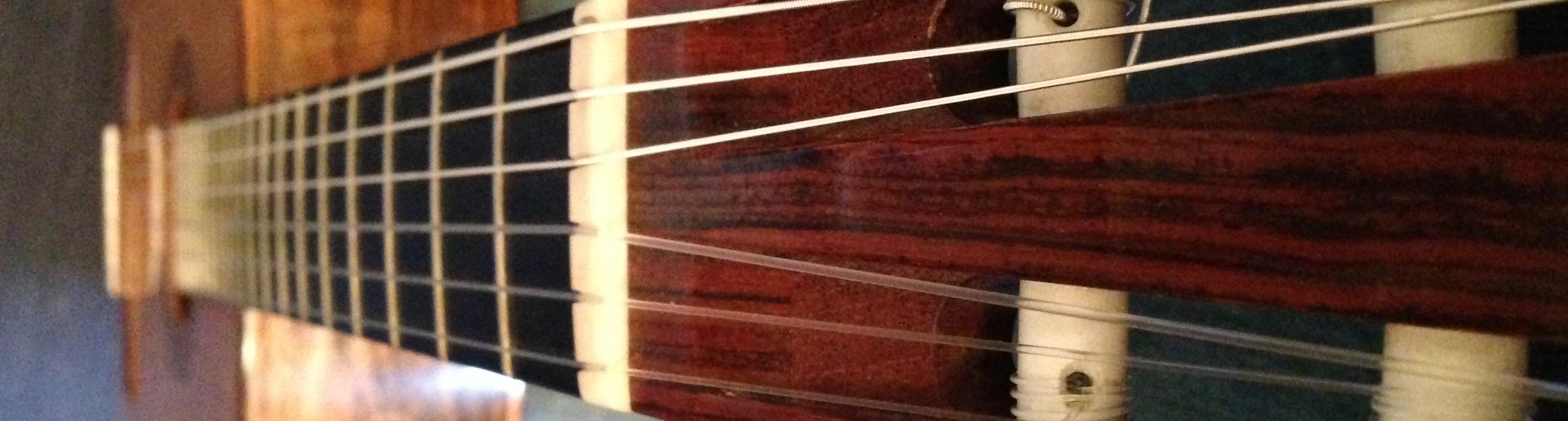 Mein Gitarrenunterricht
